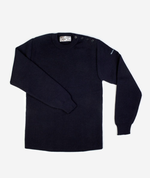 Fileuse d'Arvor navy sailor sweater