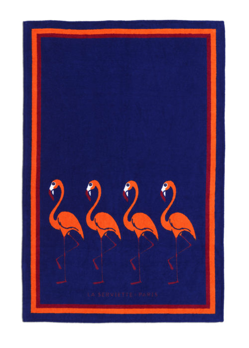 La-serviette-paris-ambassade-excellence-flamingo-napo